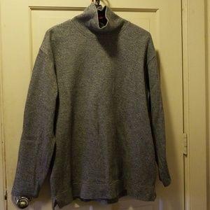 Talbots turtleneck jersey/tunic